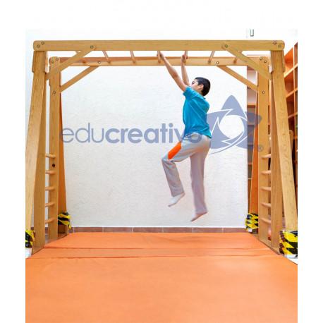 Mueble para material did ctico cl sico grande for Muebles para preescolar